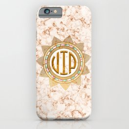 VIP – Gold multicolor iPhone Case