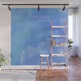 heaven smiles softly Wall Mural