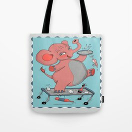 I'm so drunk, I'm seeing pink elephants! Tote Bag