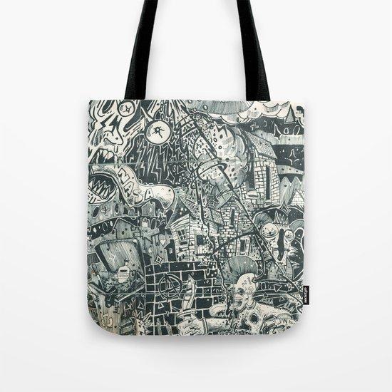 N.A.S.A. Control Tote Bag