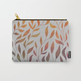 Gold Leaf Pattern 2 Carry-All Pouch