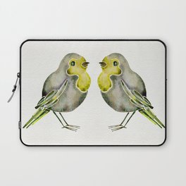 Little Yellow Birds Laptop Sleeve