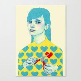 Create I Canvas Print