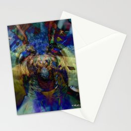 Mardi Gras Lhama Stationery Cards