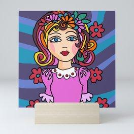 Style Girl - No7 - Doodle Art Mini Art Print