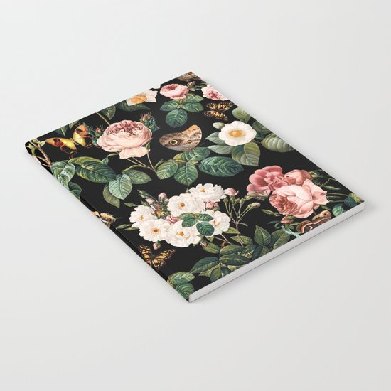 Floral and Butterflies Notebook