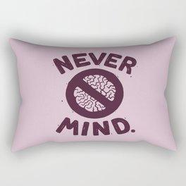NEVER M/ND Rectangular Pillow