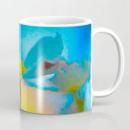 Dogwood 16 #easter #colorful #textured Coffee Mug