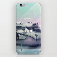 Alpine Island iPhone & iPod Skin