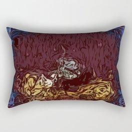 Mystic Haze Rectangular Pillow