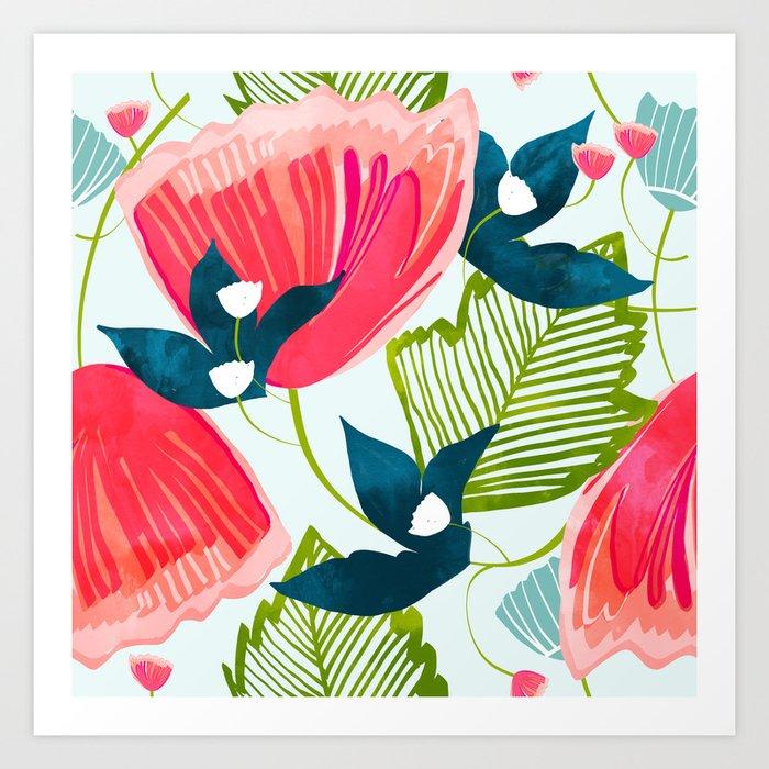 Botanica    #botanical #pattern Art Print