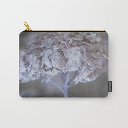 Frost Petals Of Hydrangea #decor buyart #society6 Carry-All Pouch