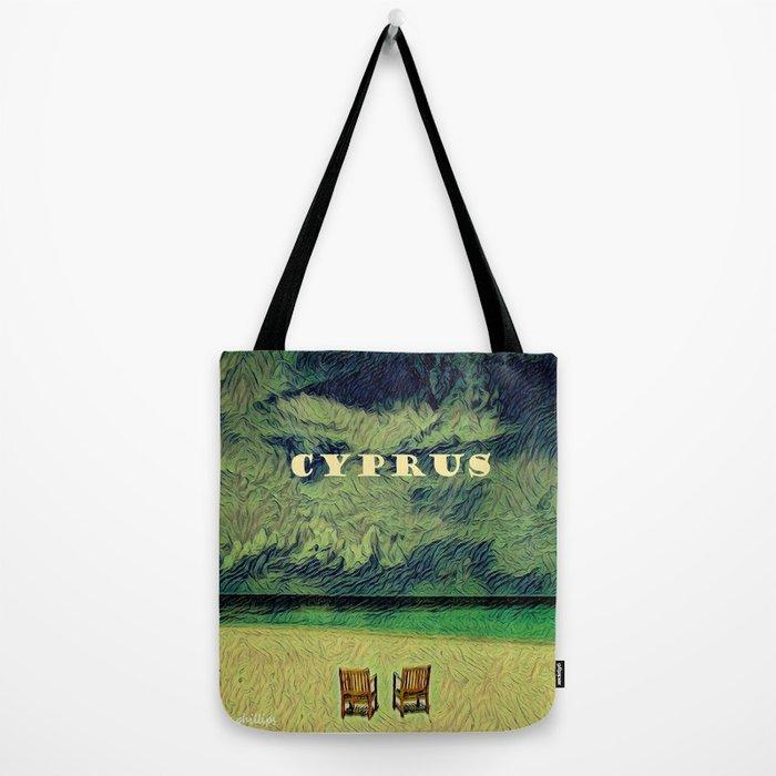 van gough of cyprus Tote Bag