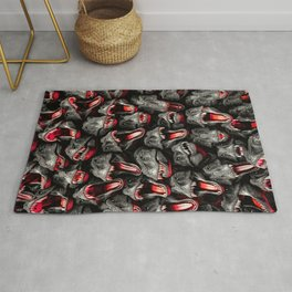 T-Rex Feeding Time Rug