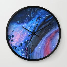 The Space Out There II Wall Clock