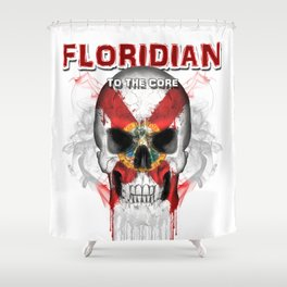 To The Core Collection: Florida Shower Curtain