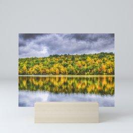 Autumn Water Mini Art Print