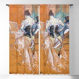 Henri de Toulouse-Lautrec - Conquest of passage Blackout Curtain
