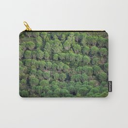 Young pine forest 6809 Carry-All Pouch
