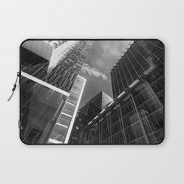 Glass Business Window Building Abstract London Laptop Sleeve