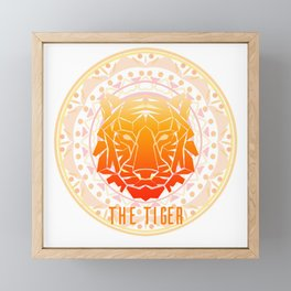 The Tiger Framed Mini Art Print