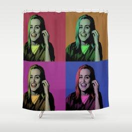 Piper Chapman Pop Art  Shower Curtain