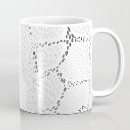 White Snake Skin Coffee Mug