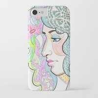 shabby chic iPhone & iPod Cases featuring Shabby Chic by Thea Maia