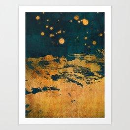 A Thousand Fireflies Art Print