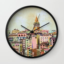 Istanbul city Turkey Wall Clock