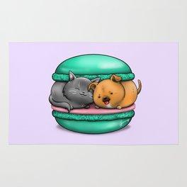 Macaron Cuddles Rug