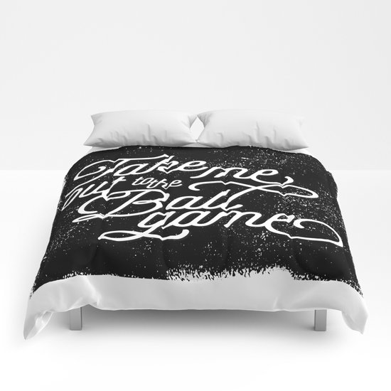 Take Me Out to the Ballgame v1 Comforters