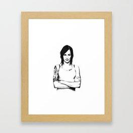 Franky Doyle Framed Art Print