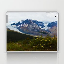 The Athabasca & Snow Dome Glaciers in Jasper National Park, Canada Laptop & iPad Skin