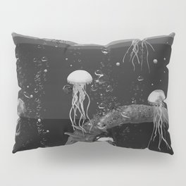 Where the jellyfish are Pillow Sham