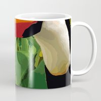 brasil Mugs featuring Brasil Tropical by watermelon