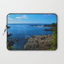 Wild Pacific Trail, Ucluelet BC Laptop Sleeve