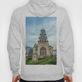 Statue of the King Pelayo and Santa Cruz chapel Hoody