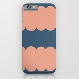 My Humps - Blue and Peach iPhone Case