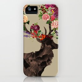 Spring Itself Deer Flower Floral Tshirt Floral Print Gift iPhone Case