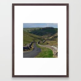 Kettlewell to Leyburn Road Framed Art Print