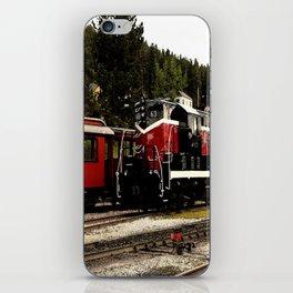 Black Hills Diesel Locmotive # 63 Abstract iPhone Skin