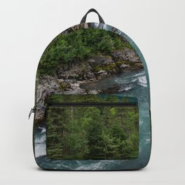 Alaska River Canyon - II Backpack