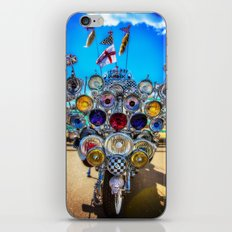 Mod Scooter iPhone & iPod Skin