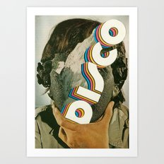 discoface Art Print