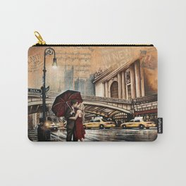 The New York Kiss on Park Ave Carry-All Pouch