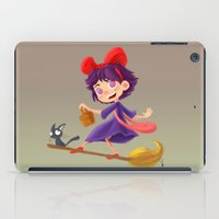 kiki iPad Cases featuring Let's have a Kiki by Ian Chaffardet