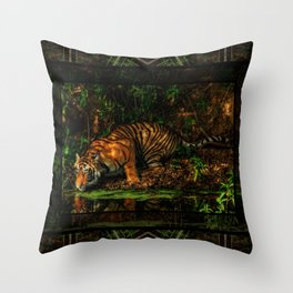 The Royal Bengal Tiger ( Throw Pillow