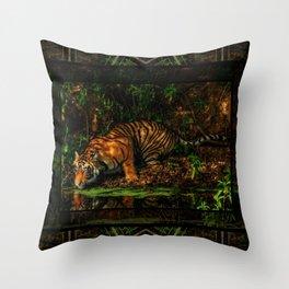 The Royal Bengal Tiger ( Throw Pillow