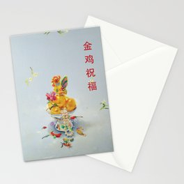 Year of the Rooster 金 雞 祝 福 Stationery Cards